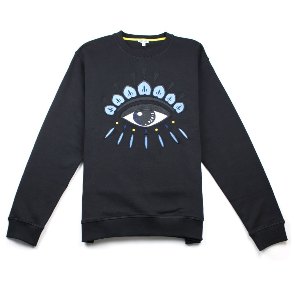 9643d1e6b117 Kenzo Eye Sweatshirt Black | ONU