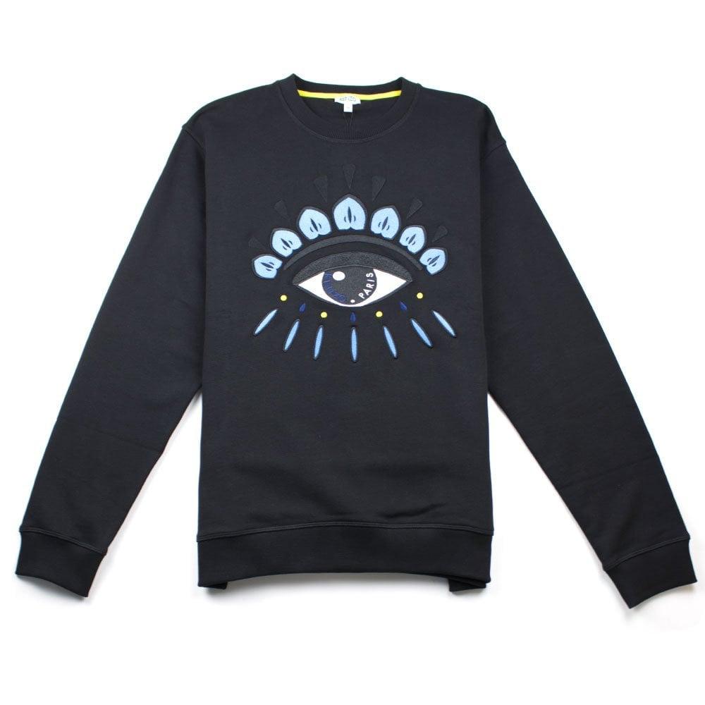 fbe23b883cf Kenzo Eye Sweatshirt Black | ONU