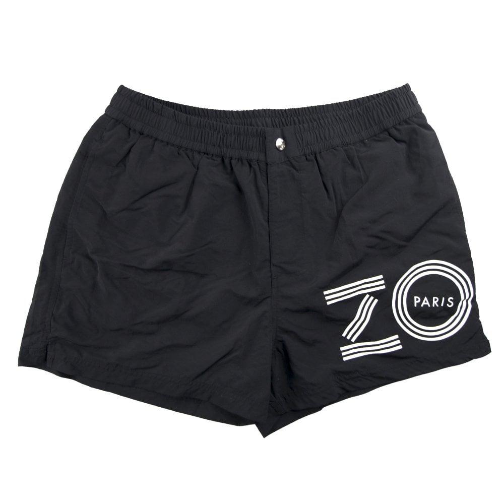4cef5877 Kenzo Side Logo Swim Shorts Black | ONU