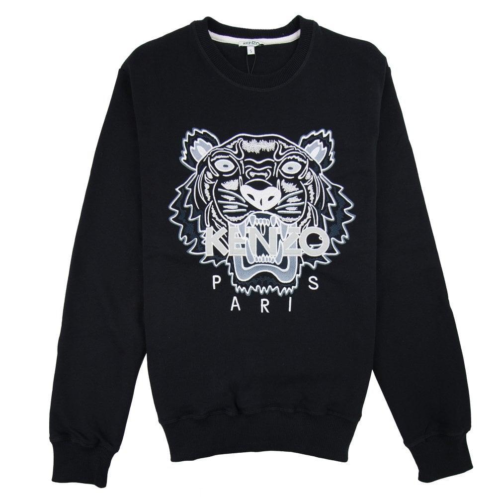 Mono Chrome Tiger Tiger Mono Sweatshirt Sweatshirt Chrome Black Black Tiger Chrome Mono Sweatshirt SMVpUzqG