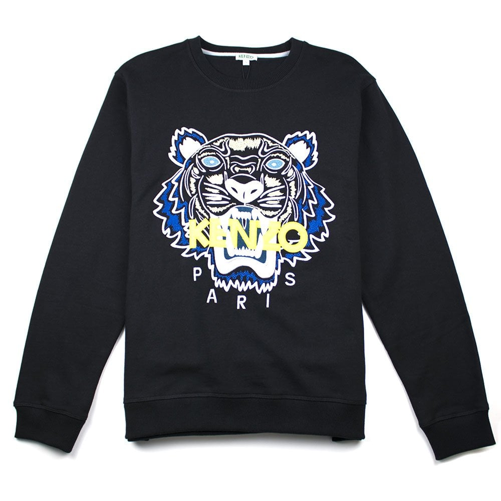 Kenzo Tiger Sweatshirt Black  7f33bed53