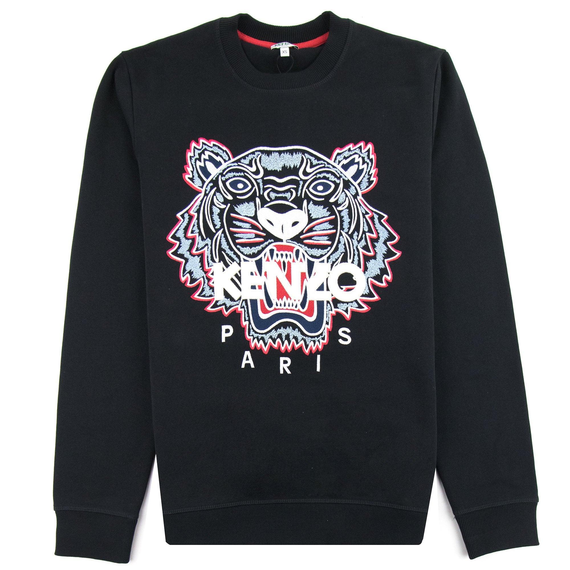 Kenzo Kenzo Tiger Sweatshirt Blackred