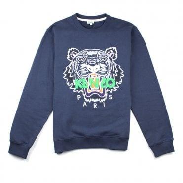 74e88d892271 Kenzo Tiger Sweatshirt Navy
