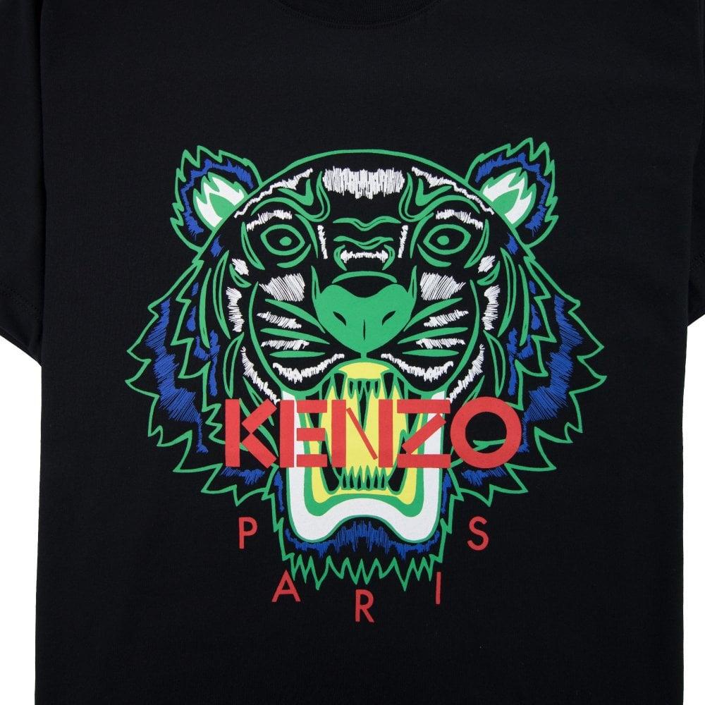13b7b21086af Kenzo Tiger T-Shirt Black | ONU