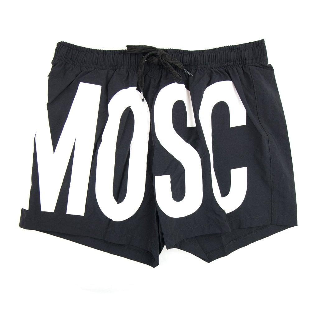 8ef5734973f87 Love Moschino Logo Swim Shorts Black 0555 | ONU