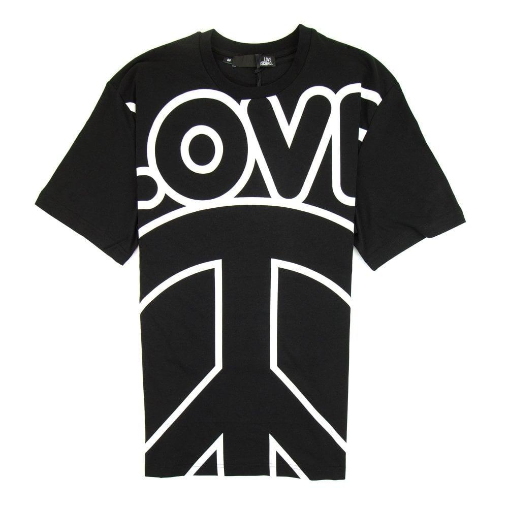 LOVE MOSCHINO T SHIRT-BLACK.