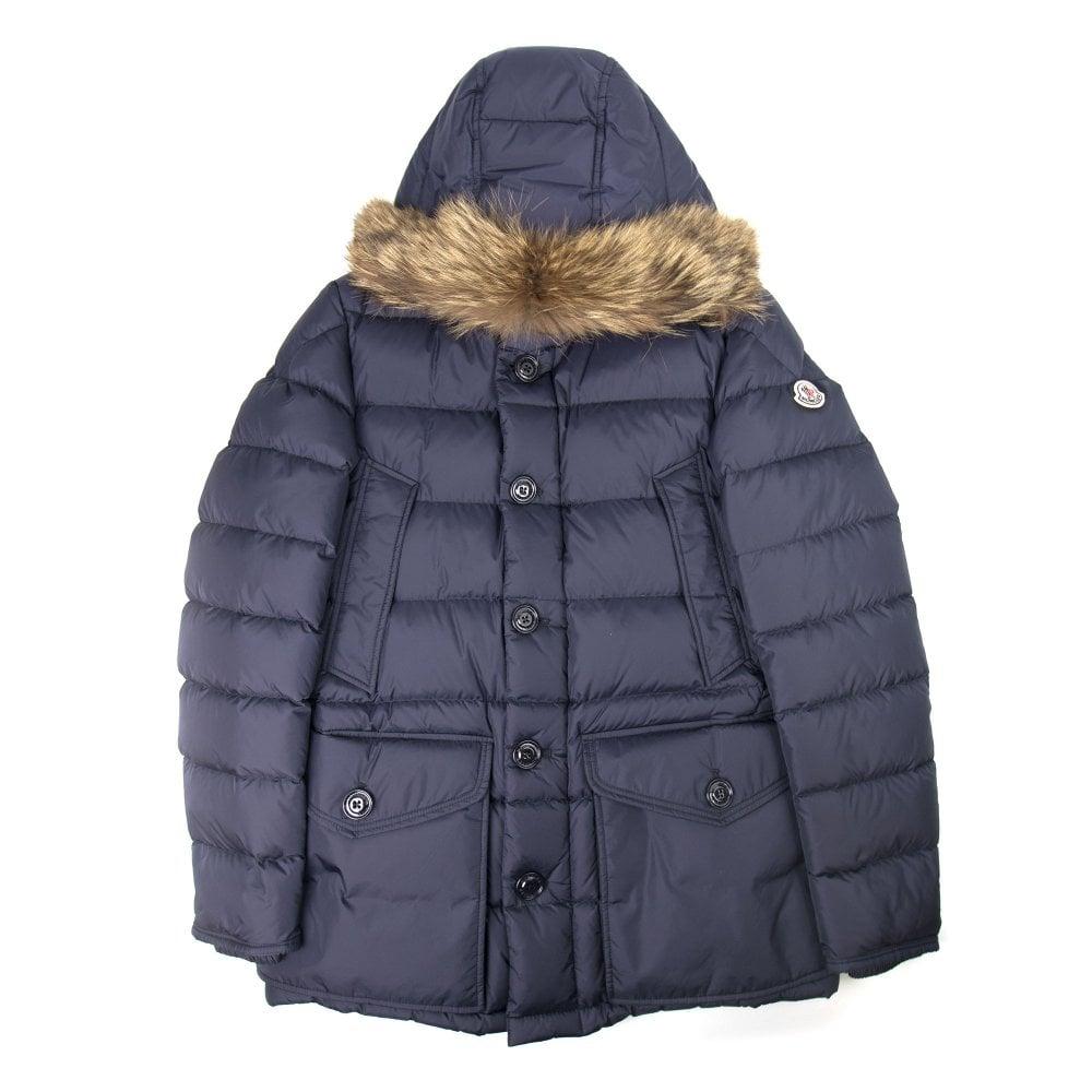 Cluny Parka Jacket Navy