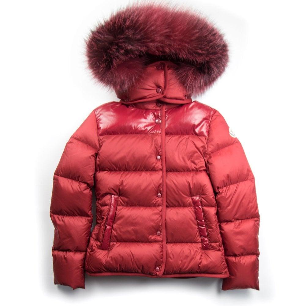 02c44e395 Moncler Junior Armandine Jacket Red