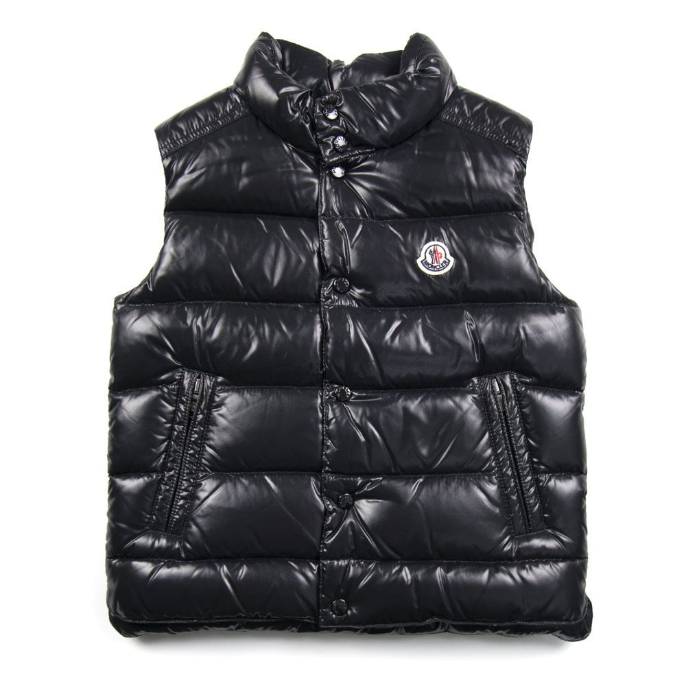 6d399edf1 Moncler Junior Tib Gilet Black