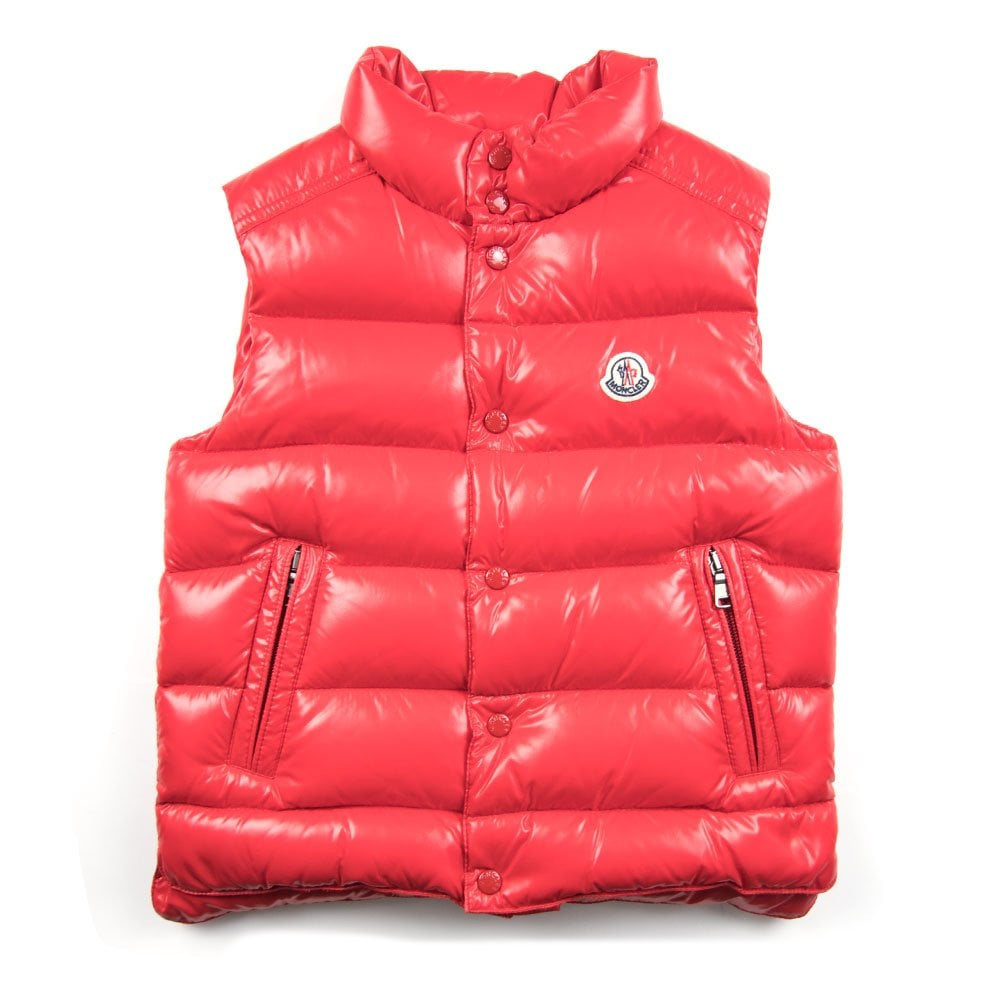 07174c5e61e0 Moncler Junior Tib Gilet Red