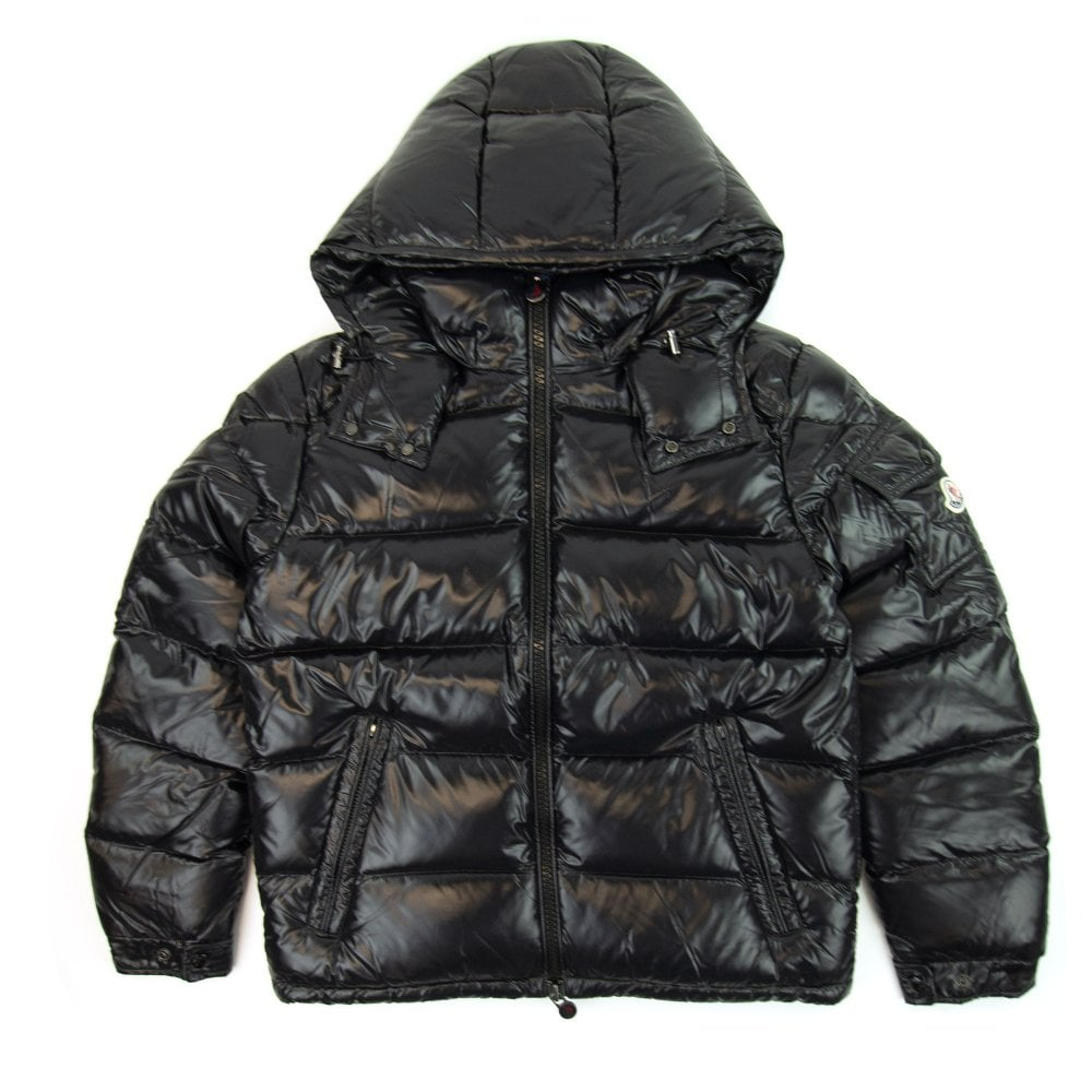 miglior sito web e0de7 f7870 Maya Giubbotto Hooded Jacket Black 999