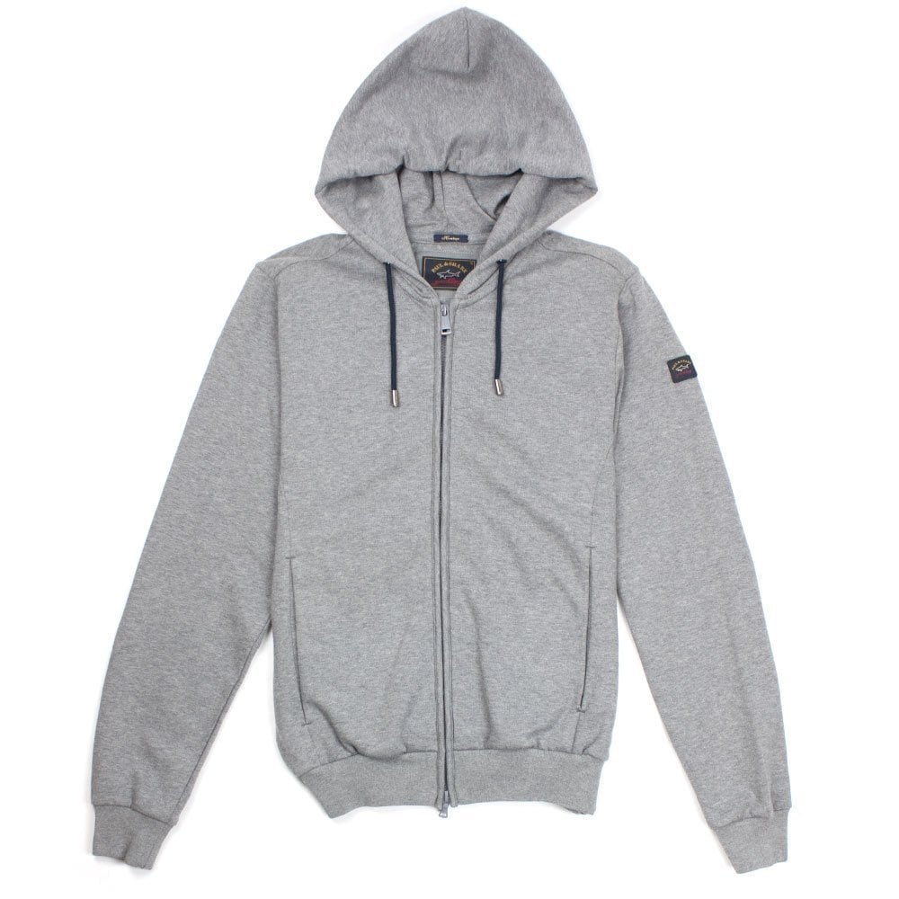 Paul /& Shark Fleece Sweatshirt Light Grey