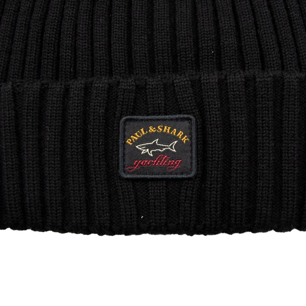 02dfcef20 Patch Logo Beanie Black