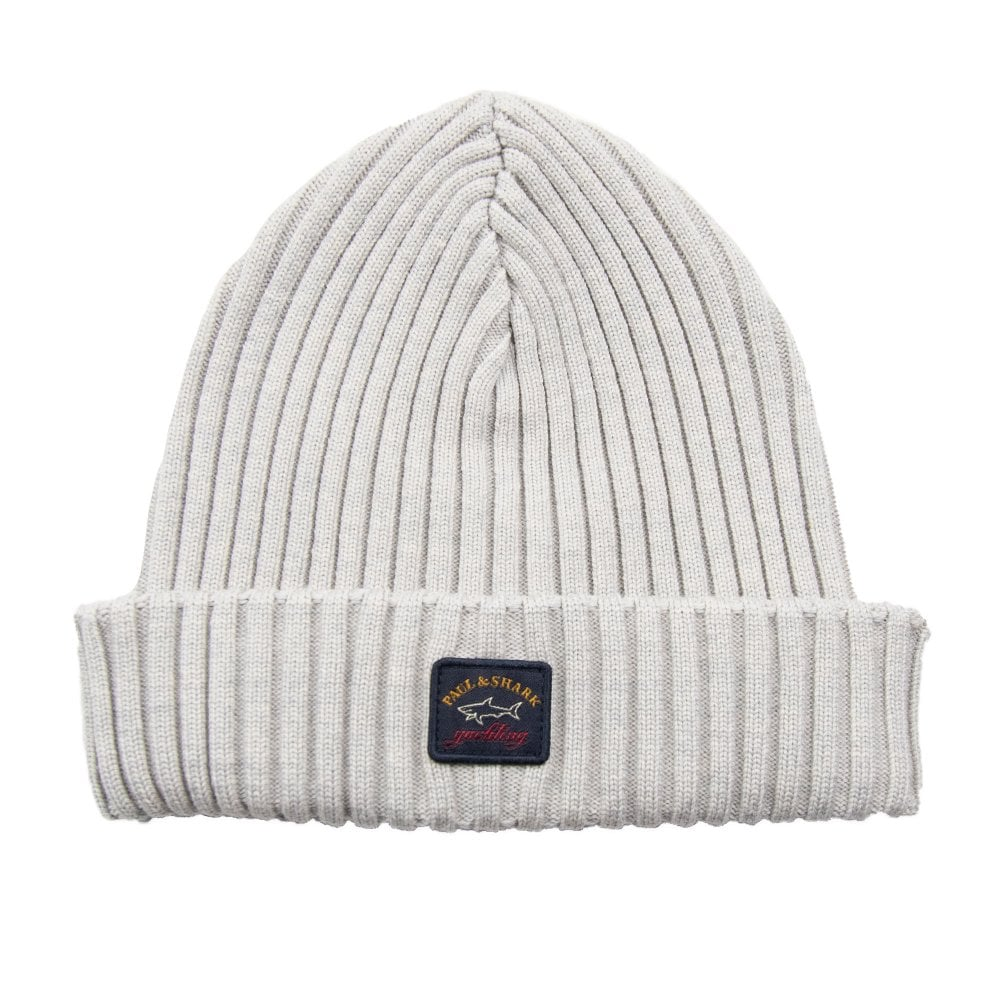 a2166cb10 Patch Logo Beanie Light Grey