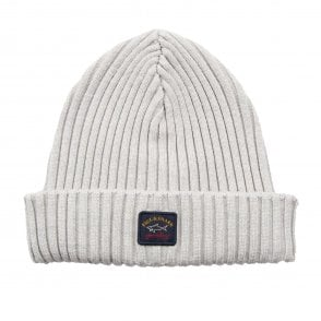a4db0ae6 Paul and Shark Ribbed Knitted Logo Beanie | ONU