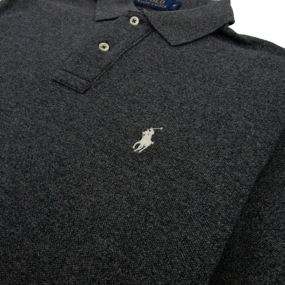 Fit Short Sleeve Polo Grey Custom Heather IH29WDEY