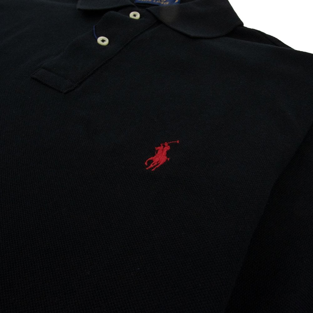 Polo Ralph Lauren Mens Custom Fit Short Sleeves Polo Shirt