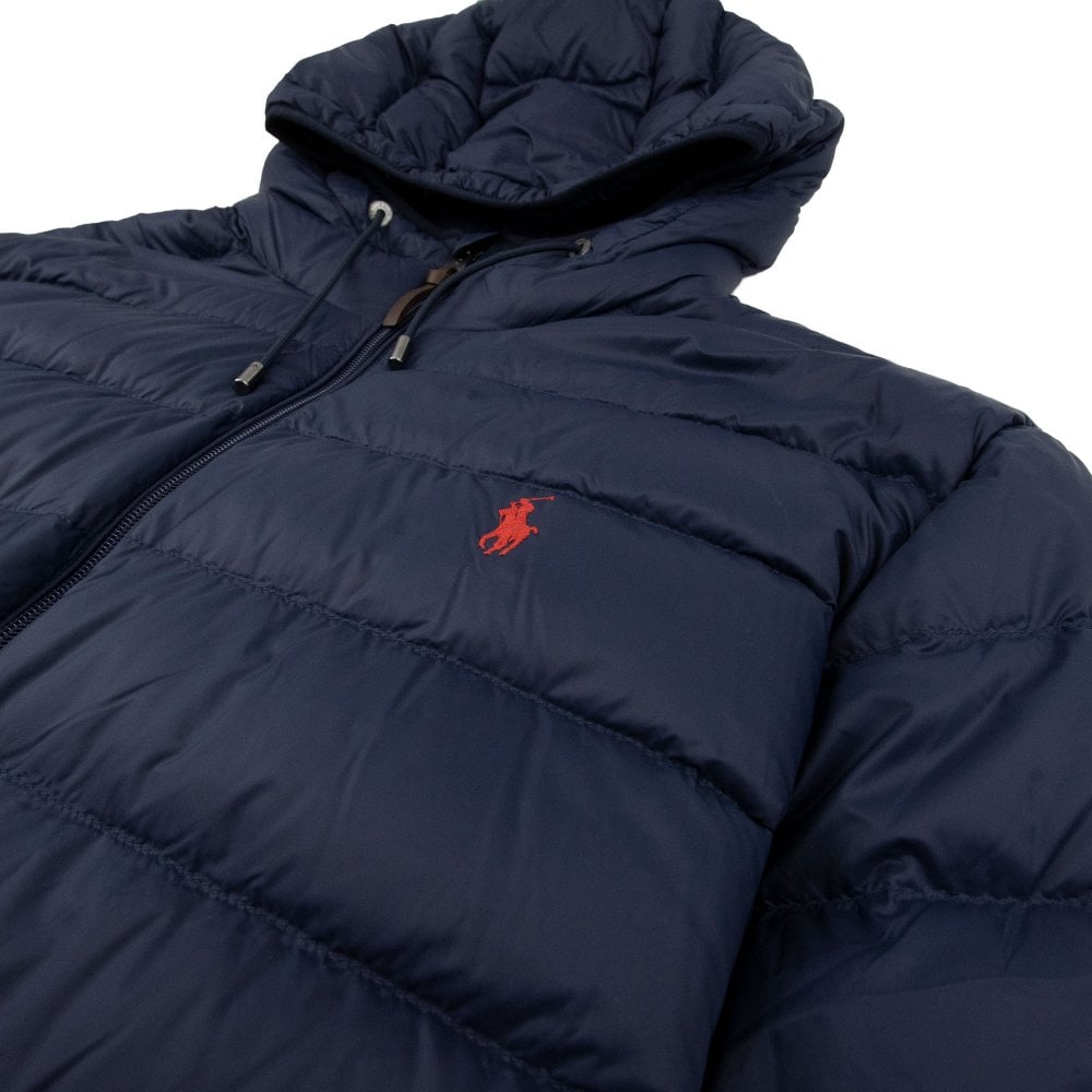 online store colours and striking select for authentic Quilted Down Jacket Navy