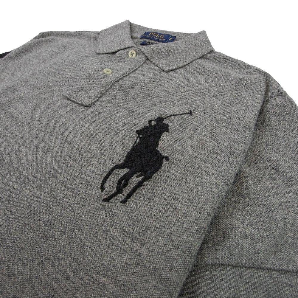 Slim Heather Sleeve 3 Big Short On Polo Pony Fit Vintage cFJ1TK3l