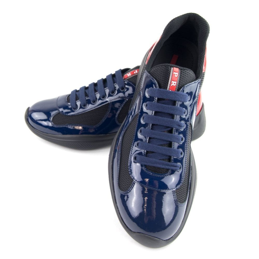 Navy America's Cup Patent Leather and