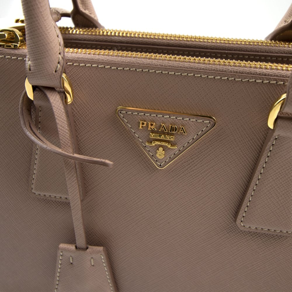 6c8178877f6d Prada Galleria Mini Saffiano Leather Bag Blush Pink (Nude) | ONU