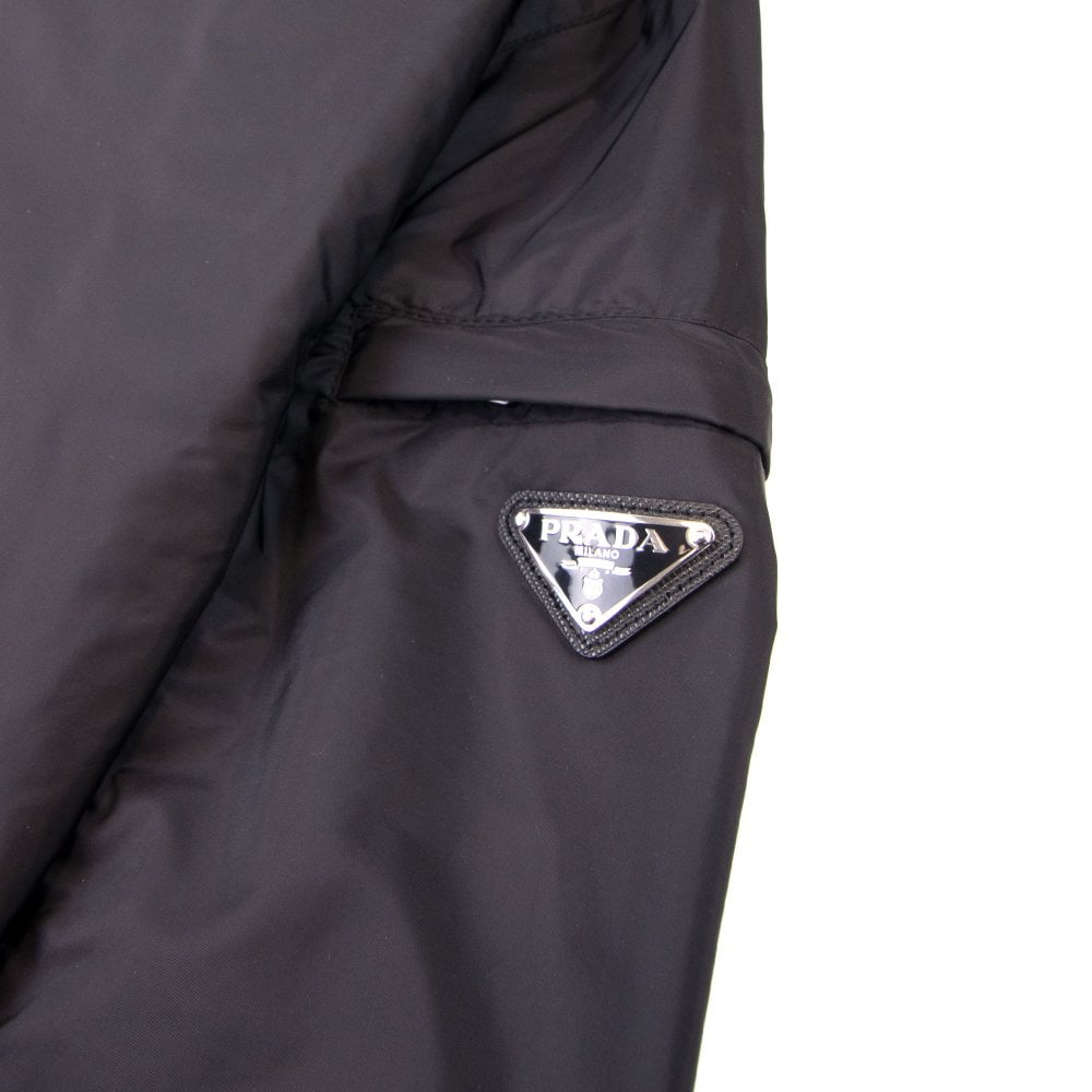 size 40 be0df dd22c Giubbotto Nylon Piuma Windbreaker Jacket Nero