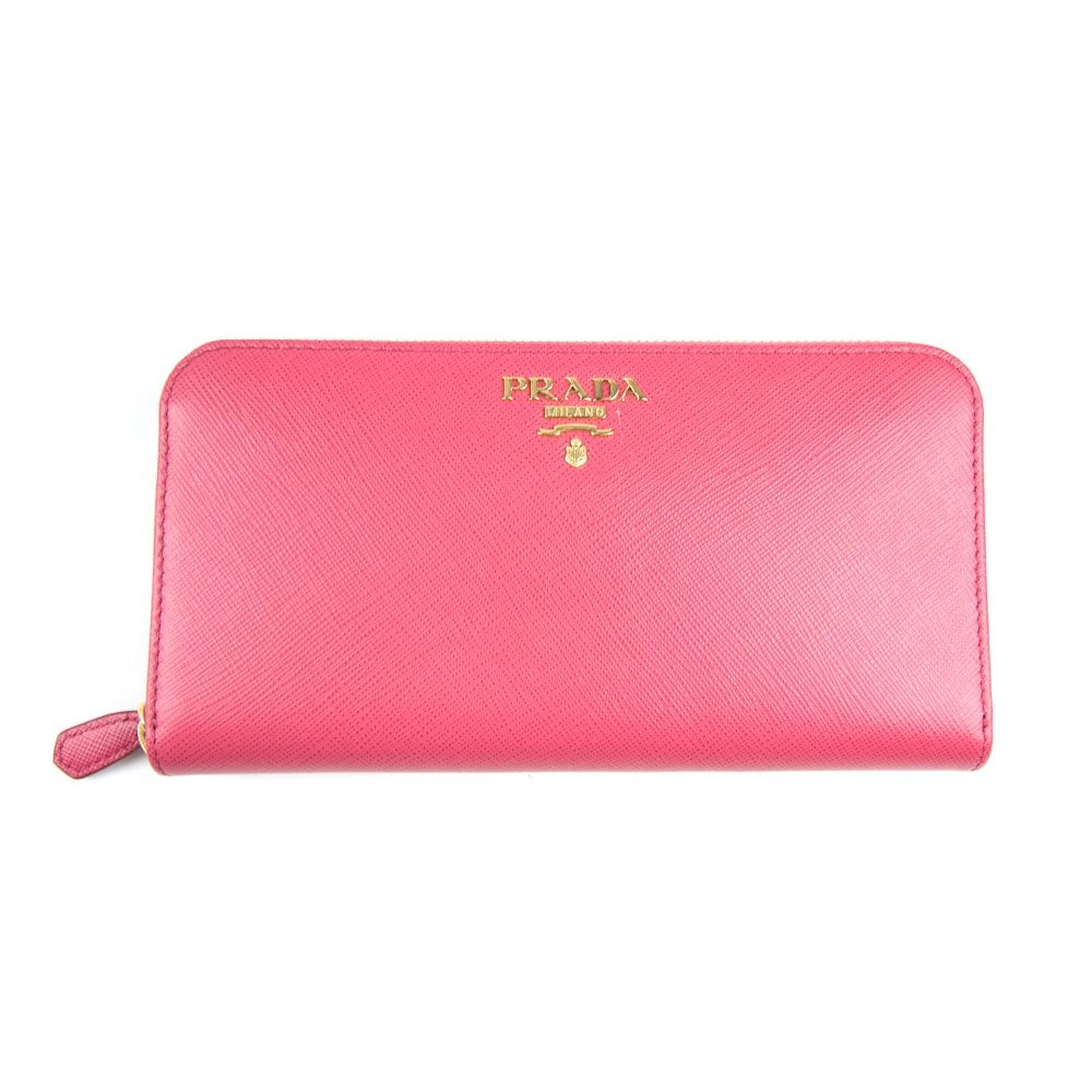 daccac1b3f5 Leather Wallet Pink