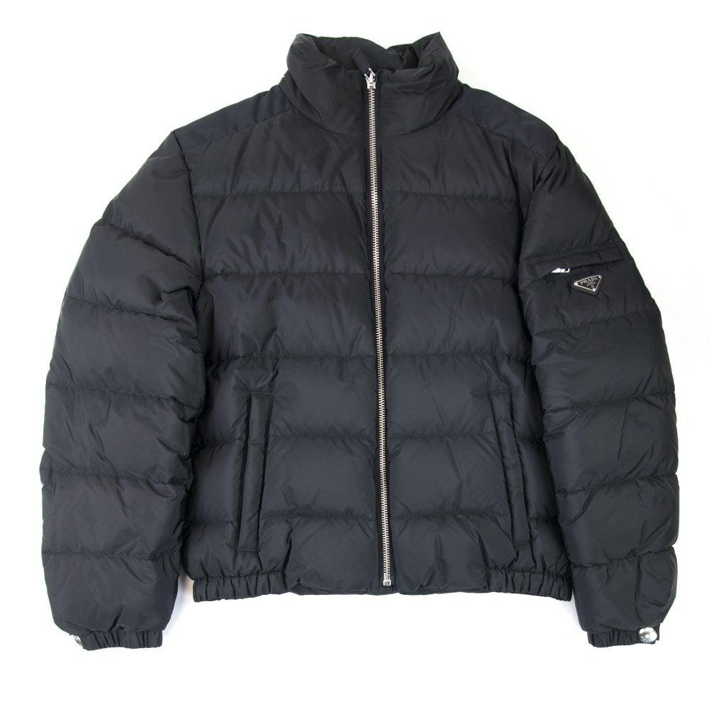 innovative design 44a00 9c6c6 Piumino Nylon Piuma Puffer Jacket Nero