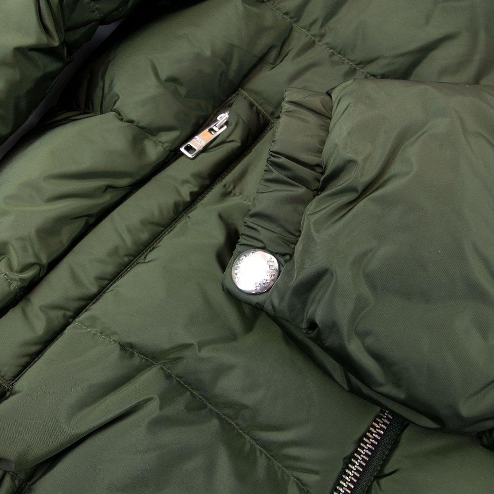 check out 6207f 44131 Piumino Nylon Piuma Puffer Jacket Olive/Nero