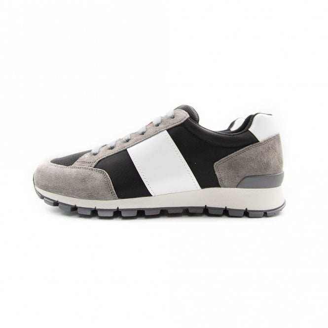 a873d7bc Scamosciata Runner Trainers Black/Grey