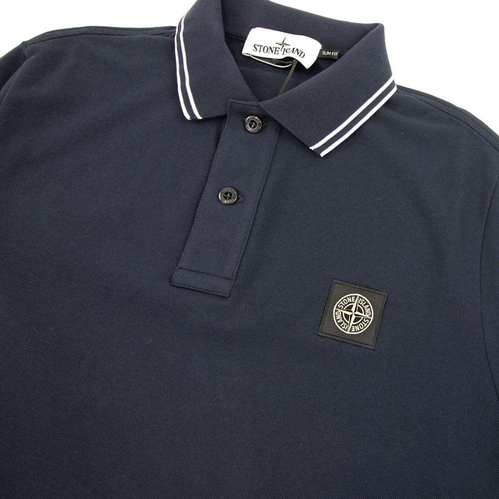stone island navy shirt