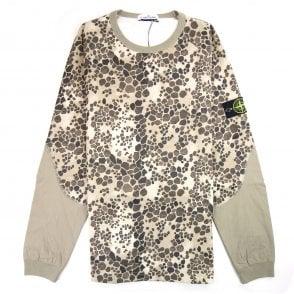6ca2dd8d50dce Stone Island Crewneck Sweatshirt Black | ONU