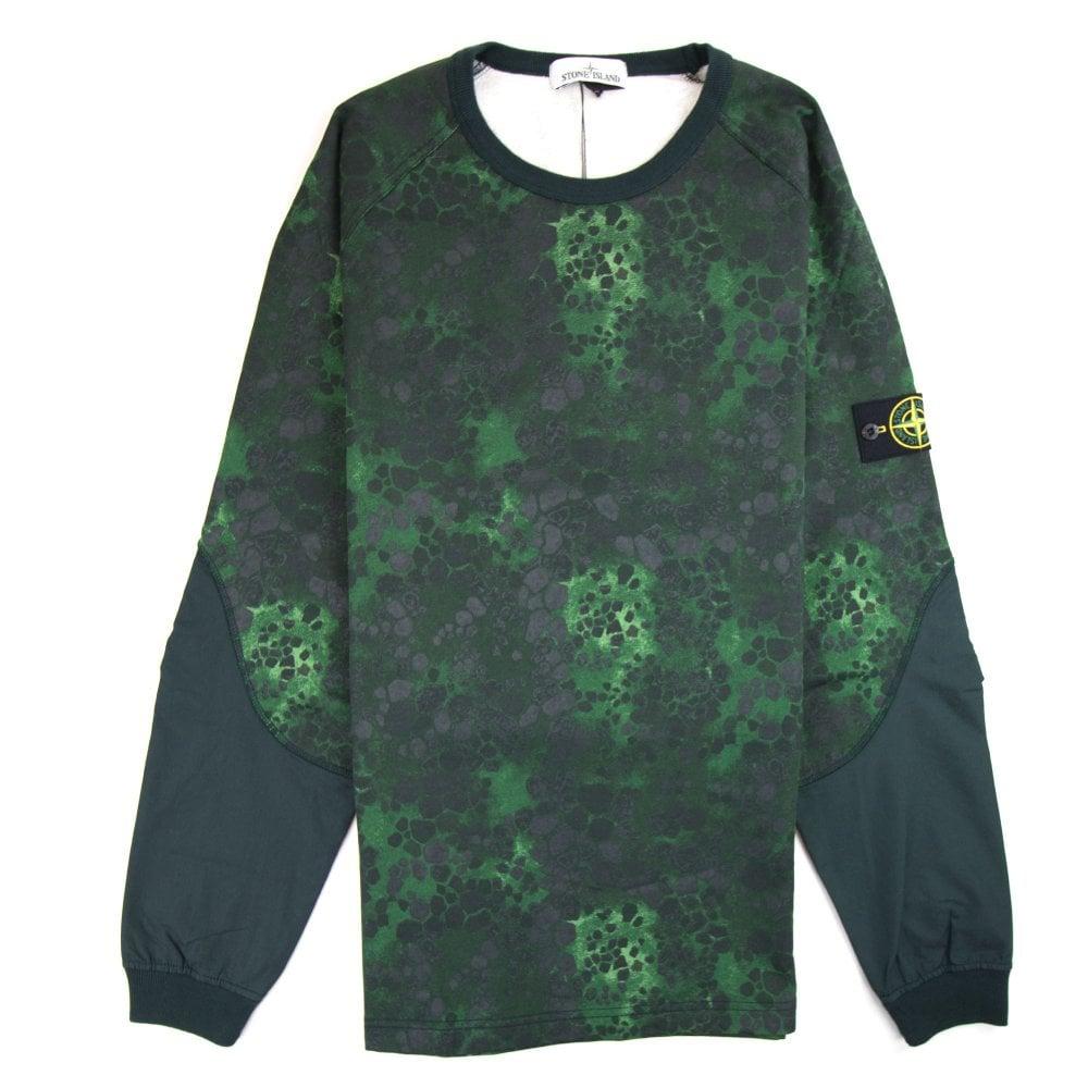b9b10b4bddef0 Stone Island Alligator Sweatshirt Green | ONU