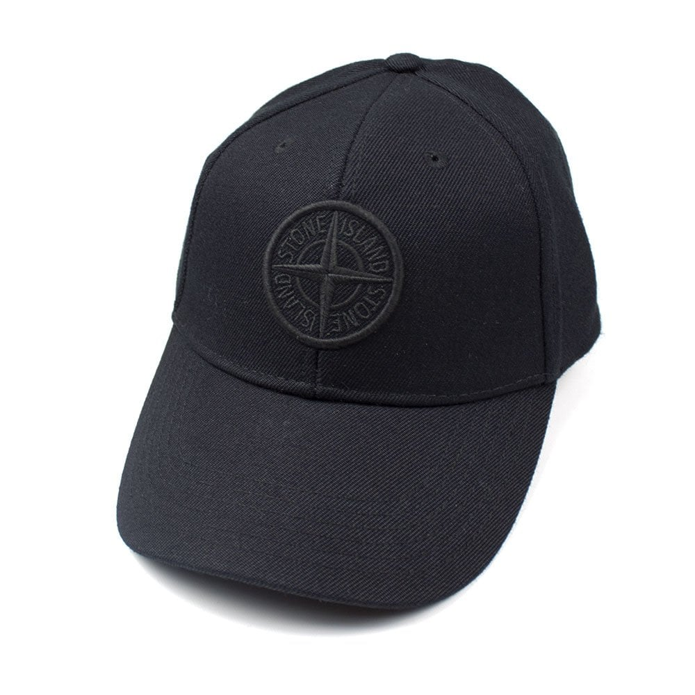 Stone Island Compass Cap Black  4ecae41ef59