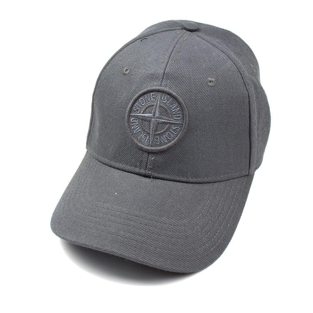 67970e1e30eb2 Stone Island Compass Cap Grey