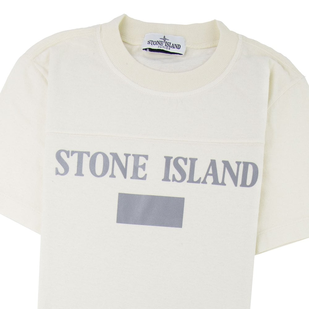 stone island reflective t shirt