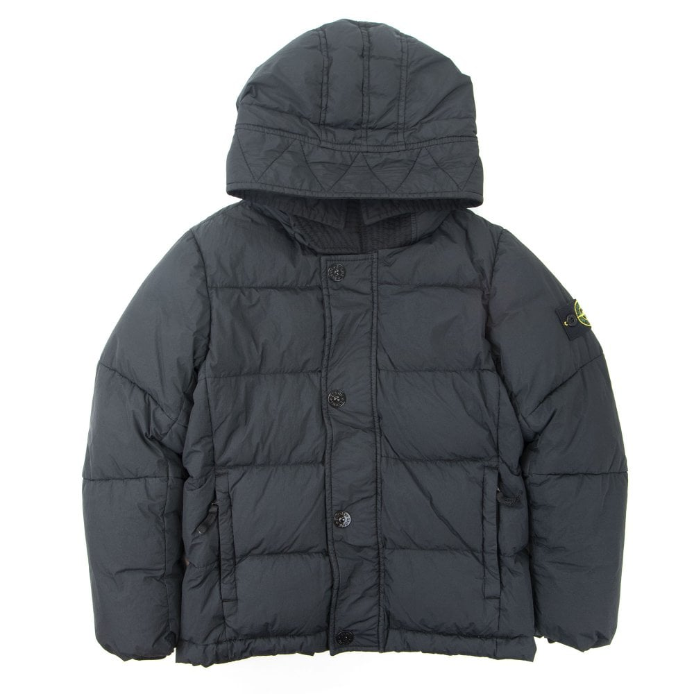 a235106d8 Garment Dyed Crinkle Reps Ny Down Jacket Black V0029