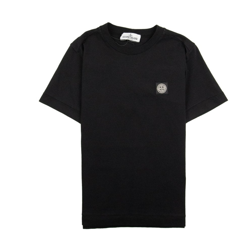 2a42b8ea Stone Island Junior Patch Logo T-Shirt Black | ONU