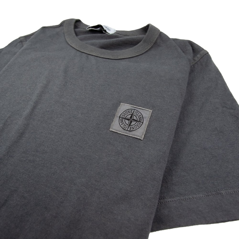 ce0fff97 Stone Island Junior Patch Logo T-Shirt Dark Grey | ONU