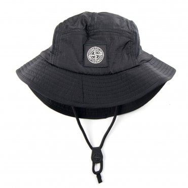 ec8d5791e7a Stone Island Nylon Metal Bucket Hat Black