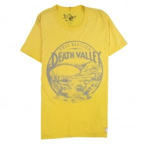 f2dffd778 True Religion Death Valley Printed Logo T Shirt Yellow