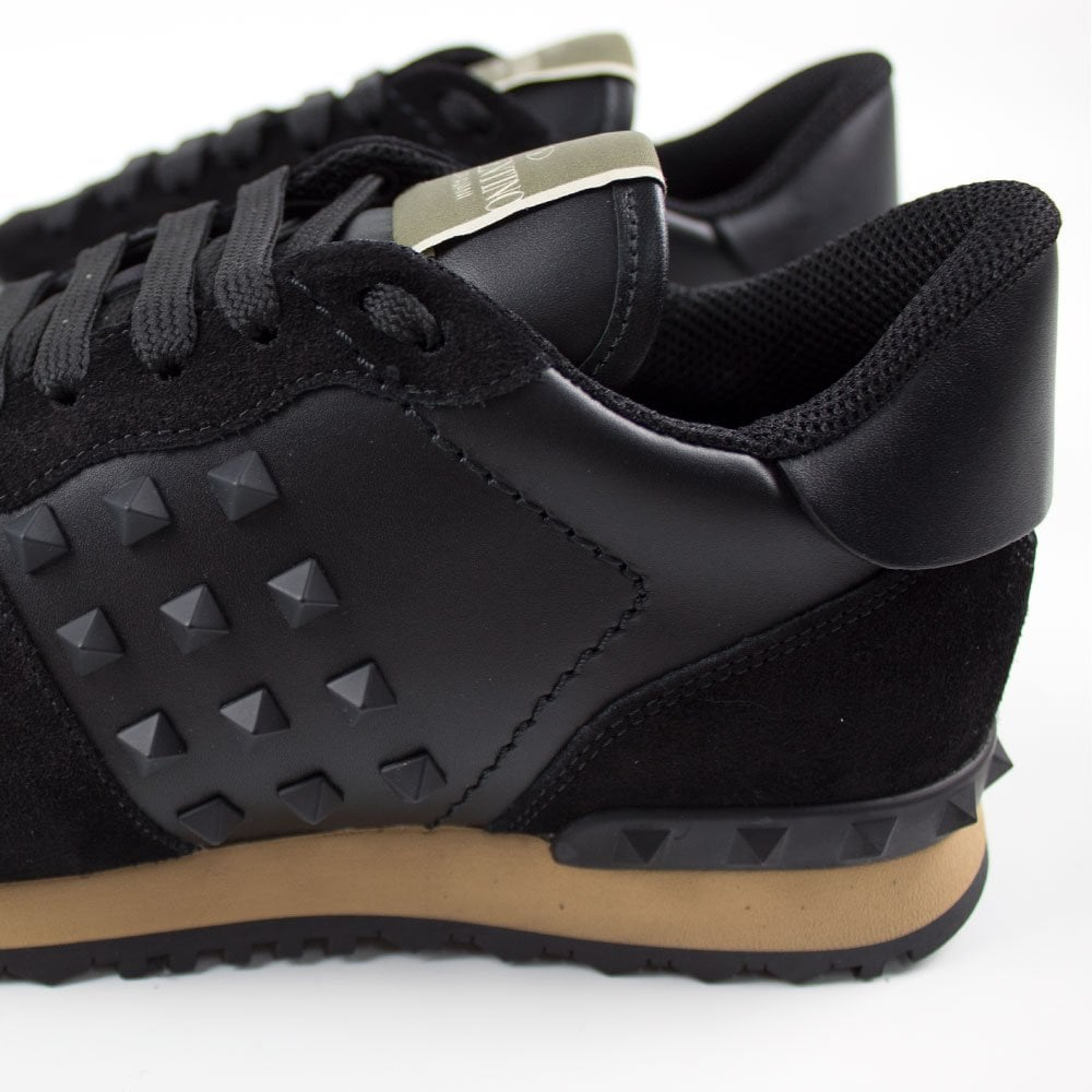 buy \u003e mens valentino trainers black, Up
