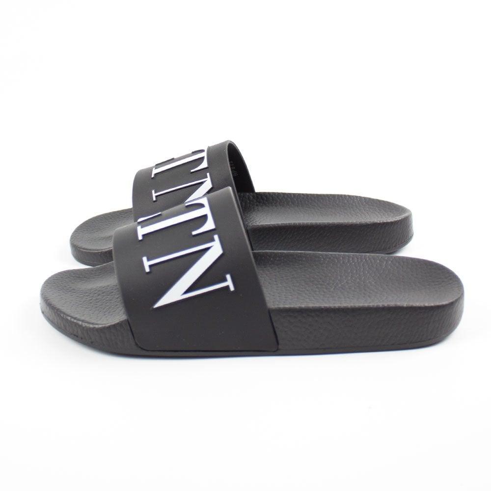 Valentino VLTN Sliders Black | Pool