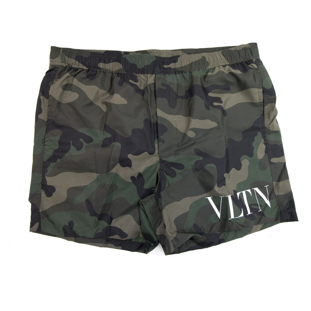 9c9a95dd2a Valentino Vltn Swim Shorts Camo | ONU
