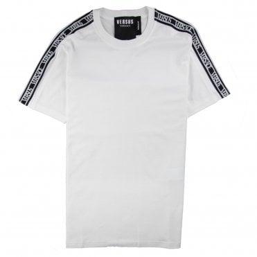 f7e449b3 Versace Versus Tape Logo T-Shirt White