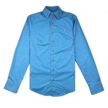d809b0ff Vivienne Westwood 3 Button Shirt Turquoise